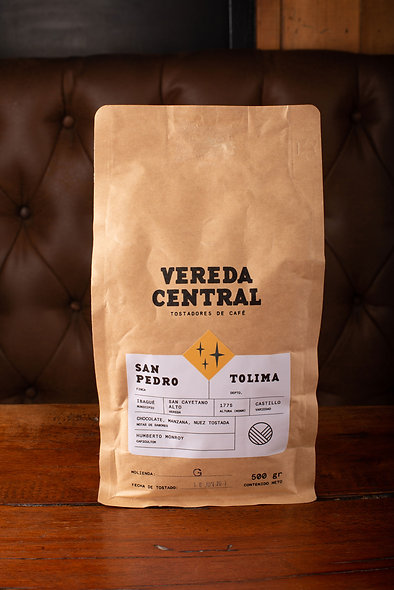 Café molido San Pedro Tolima (500 gr)