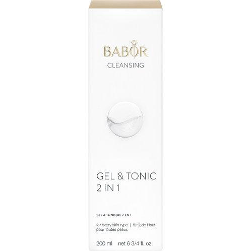Babor- Gel & tonique 2 en 1