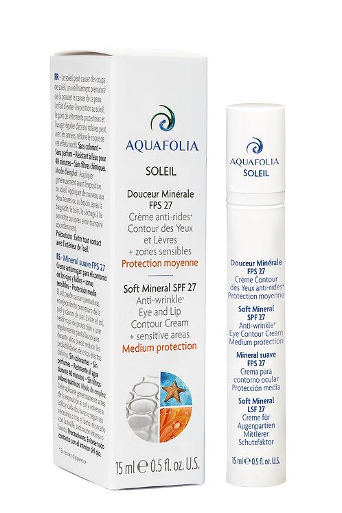 Aquafolia- Douceur Minérale FPS 27- Concept Aquafolia SOLEIL