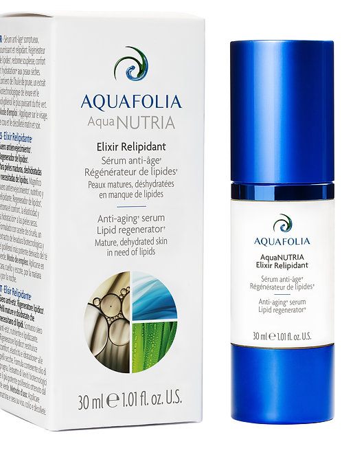 Aquafolia- AquaNUTRIA Elixir Relipidant- Concept AquaNUTRIA
