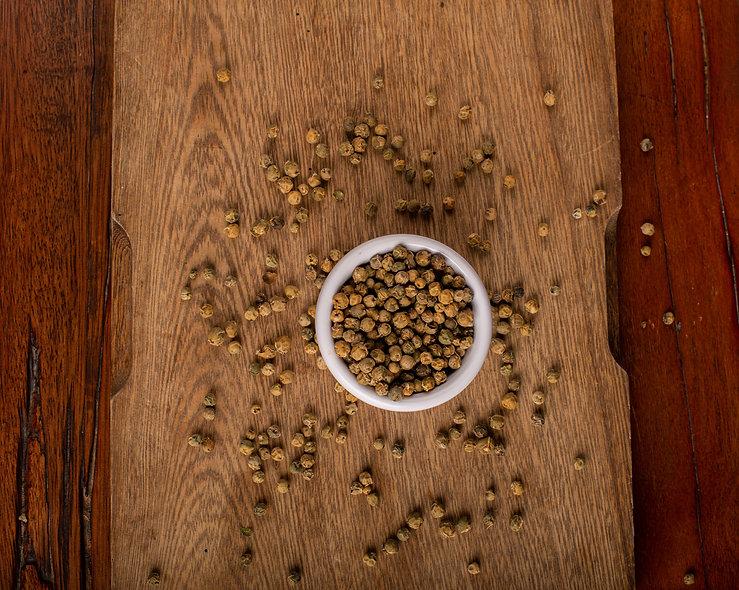 Pimienta verde entera  (50 gr)