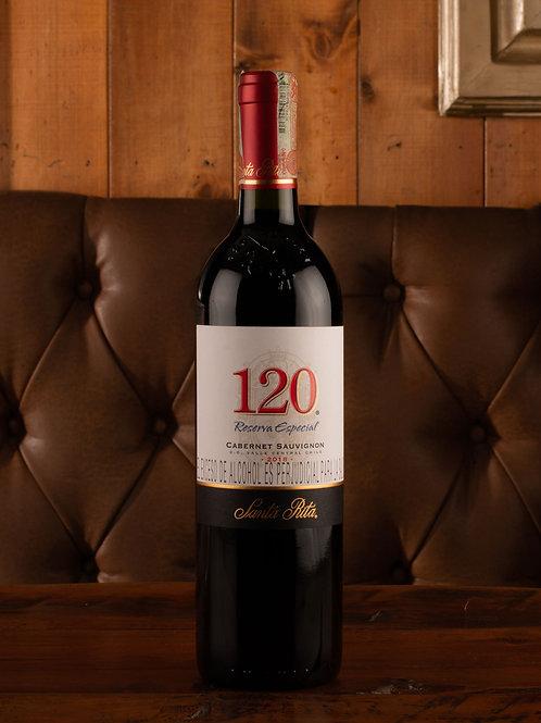 Vino Santa Rita 120 cabernet sauvignon Botella (750 ml)