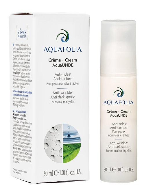 Aquafolia-Crème AquaUNDE- Concept AquaUNDE