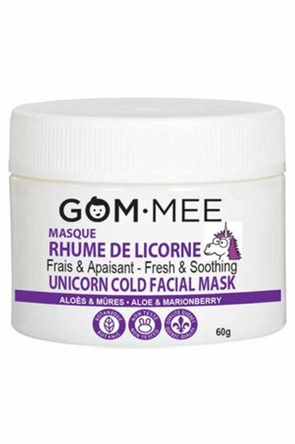 Gom mee- Masque rhume de licorne