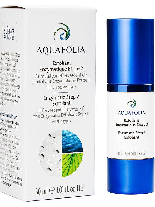 Aquafolia- Exfoliant Enzymatique Étape 2