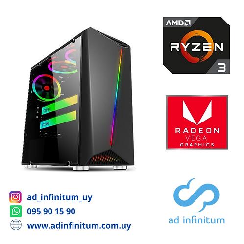 Equipo gamer AMD Ryzen 3 3200G/ 16 GB RAM / SSD 240 GB