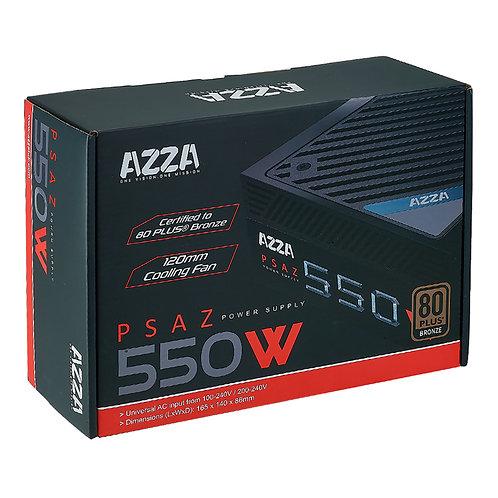 Fuente Azza PSAZ 550w 80 Plus Bronce