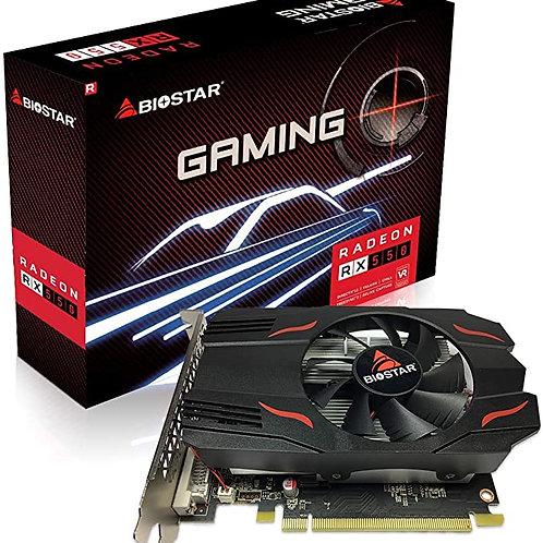 Tarjeta de video Biostar RX 550 4 GB GDDR5