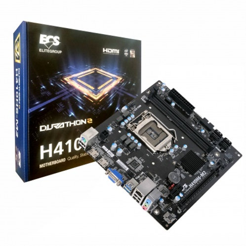 Mother ECS H410H6-M2 Socket LGA1200