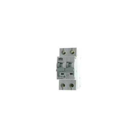 Elix - Disjoncteur Automatique Bipolaire 16A