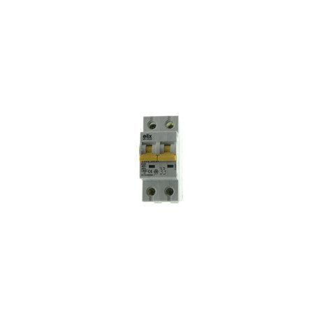 Elix - Disjoncteur Automatique Bipolaire 25A