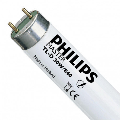 PHILIPS MASTER TL-D SUPER 80 - 30W 840 89,5CM