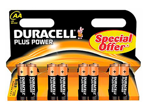 Duracell Pile alcaline AA 1,5V 8 pièces
