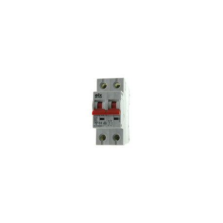 Elix - Disjoncteur Automatique bipolaire 10A