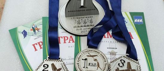 Победители Открытого лично-командного первенства по авиамодельному спорту!