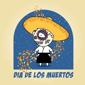 Getting ready for Dia De Los Muertos...