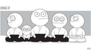 Aikido Intro #52 - Lining Up