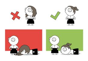 Dojo Rule #4 - Tie Up Long Hair