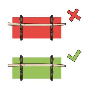 Dojo Rule #1527 - Bokken Rack