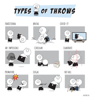 Types of Throws