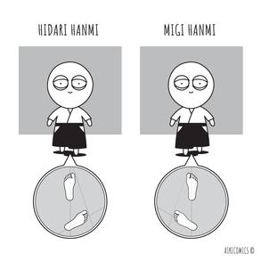 Aikido Intro #5: Hanmi