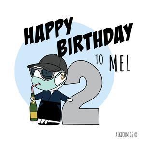 Happy Birthday Mel!