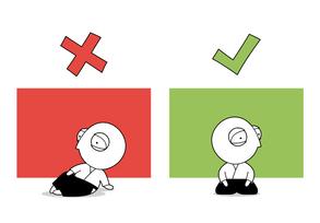 Dojo Rule #5 - Seiza