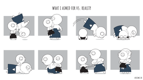 What I Aimed For vs. Reality
