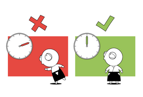 Dojo Rule #9 - Be on Time!