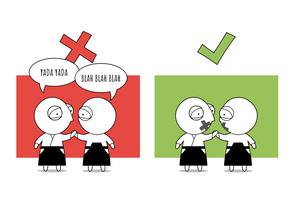 Dojo Rule #12 - No Talking