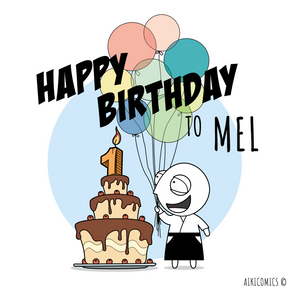 Happy Birthday Mel!