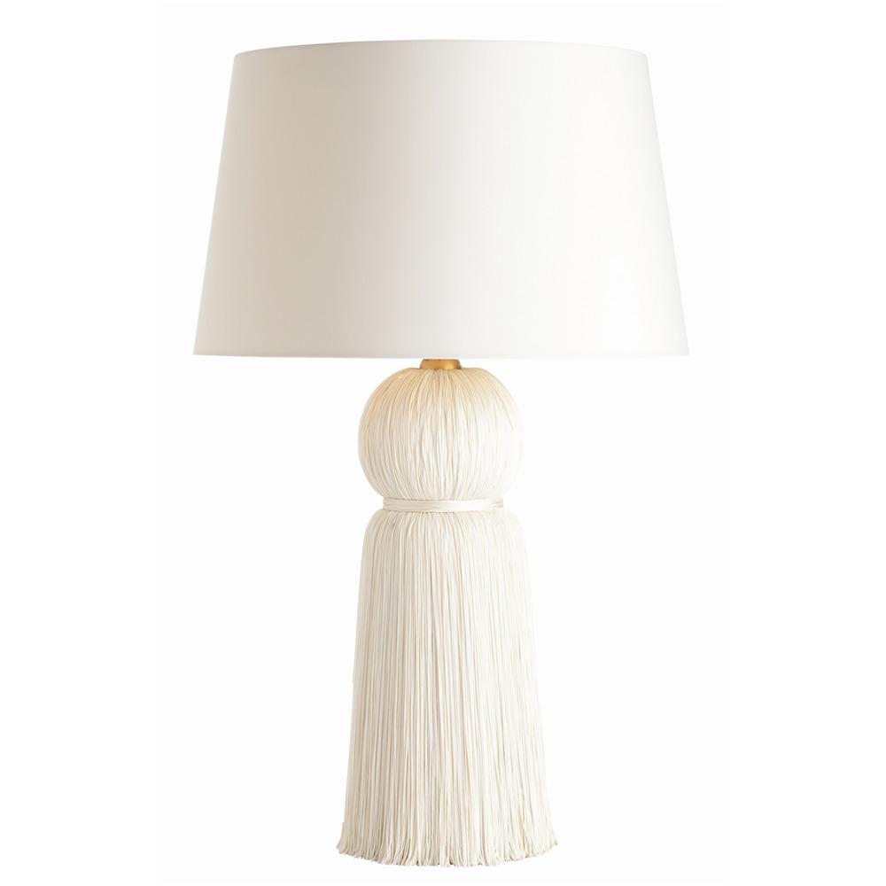 Ivory Tassel Lamp