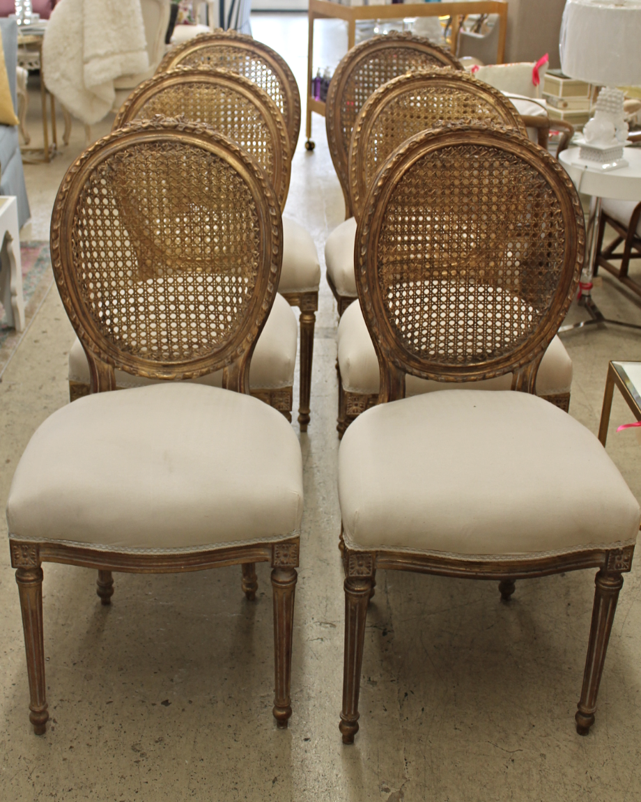 Set of Six 18th Century Dining Chair