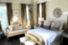 Audubon Park, New Orleans Interior Design - Bedroom
