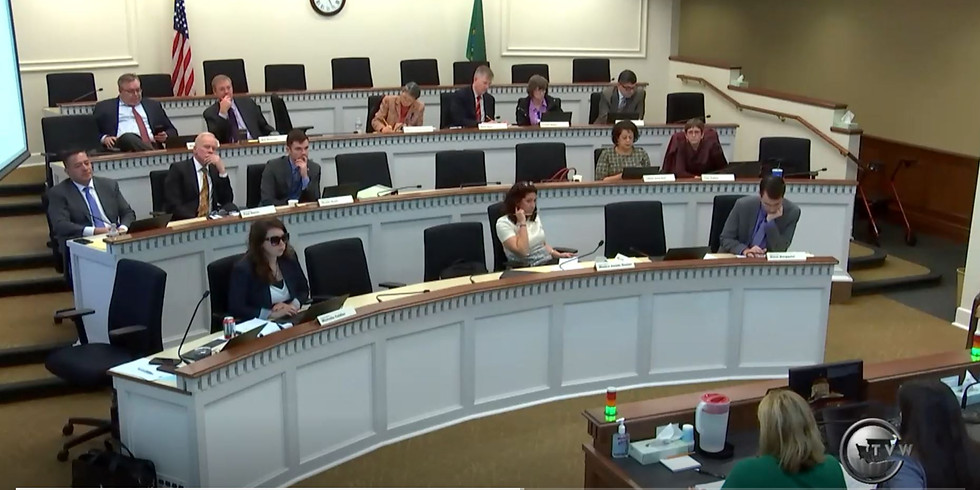 ESSB5395 Scheduled for vote in House Education Committee