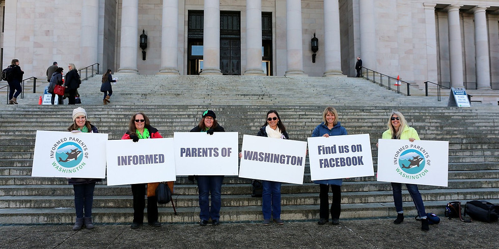 Protest for Governor Inslee to Stop CSE