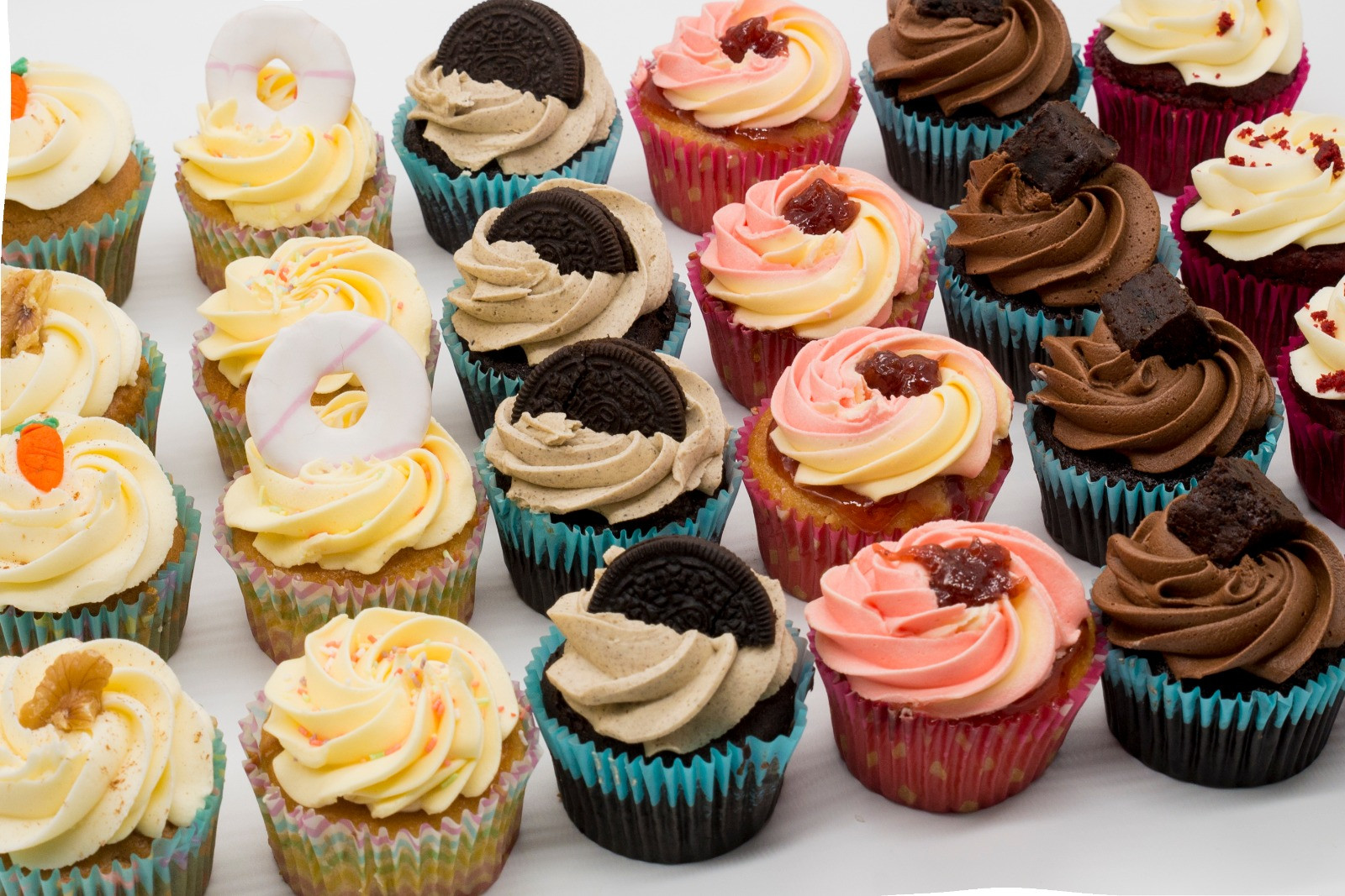 3 Three's Cupcakes Collection