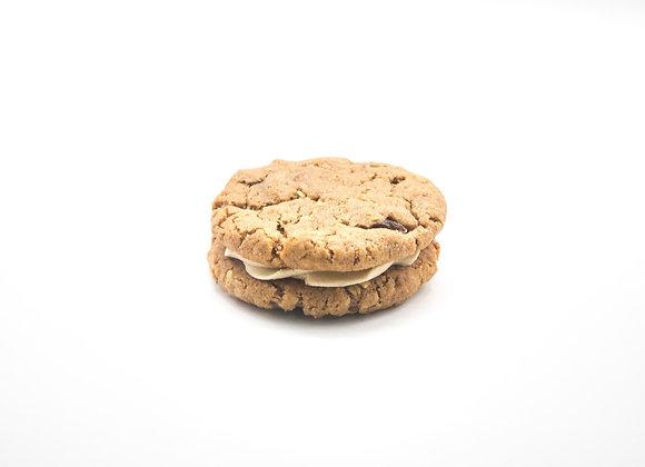 Oat & Raisin Cookie Sandwich
