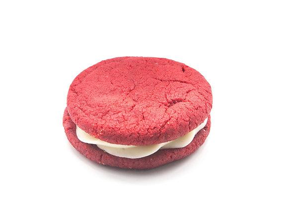 Red Velvet Cookie Sandwich