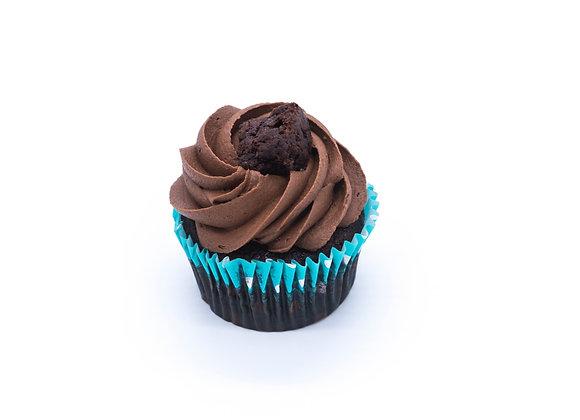 Chocolate Brownie Cupcake