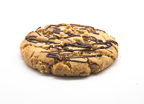 Chocolate & Peanut Butter Cookie - 12 x