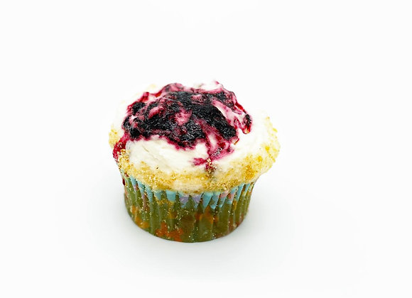 Blueberry Cheesecake Cupcake - 12 x