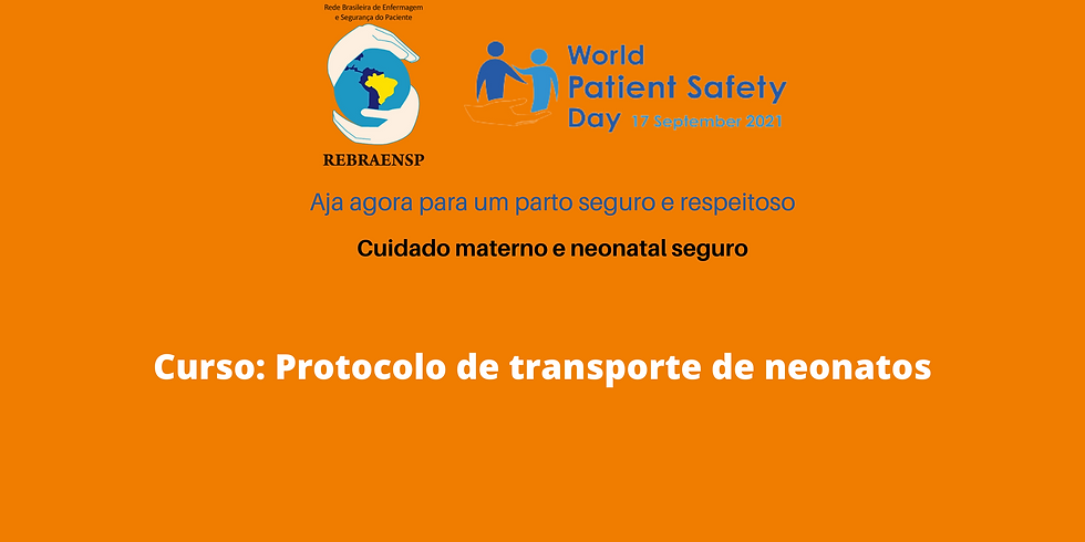 Curso: Protocolo de transporte de neonatos