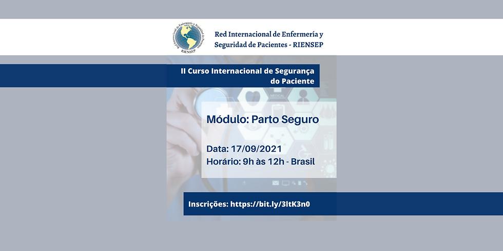 II Curso Internacional de Segurança do Paciente - RIENSEP