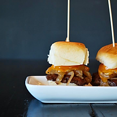 Burger Slider Trio