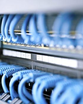 Network Hub och kabel