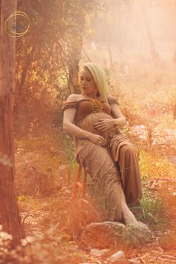 חן נגר צילומי הריון בטבע