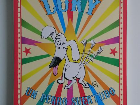 Luky. Un perro suertudo.