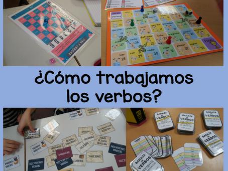 ¿Cómo trabajamos los verbos?