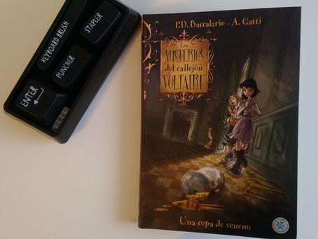 Los misterios del callejón Voltaire - Una copa de veneno